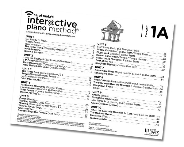 1A Table of Contents
