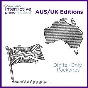 Interactive Piano Method® – AUS/UK Editions