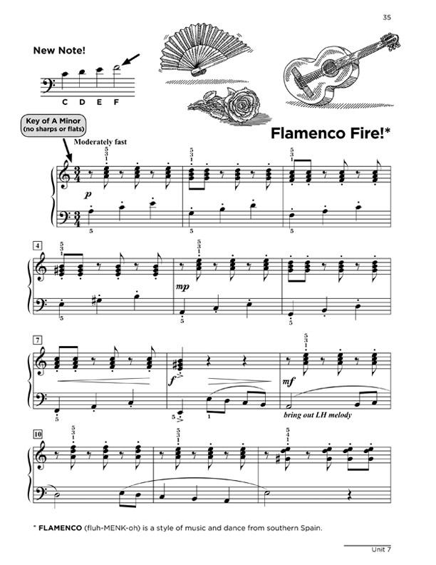 Level 3 Sample: Flamenco Fire