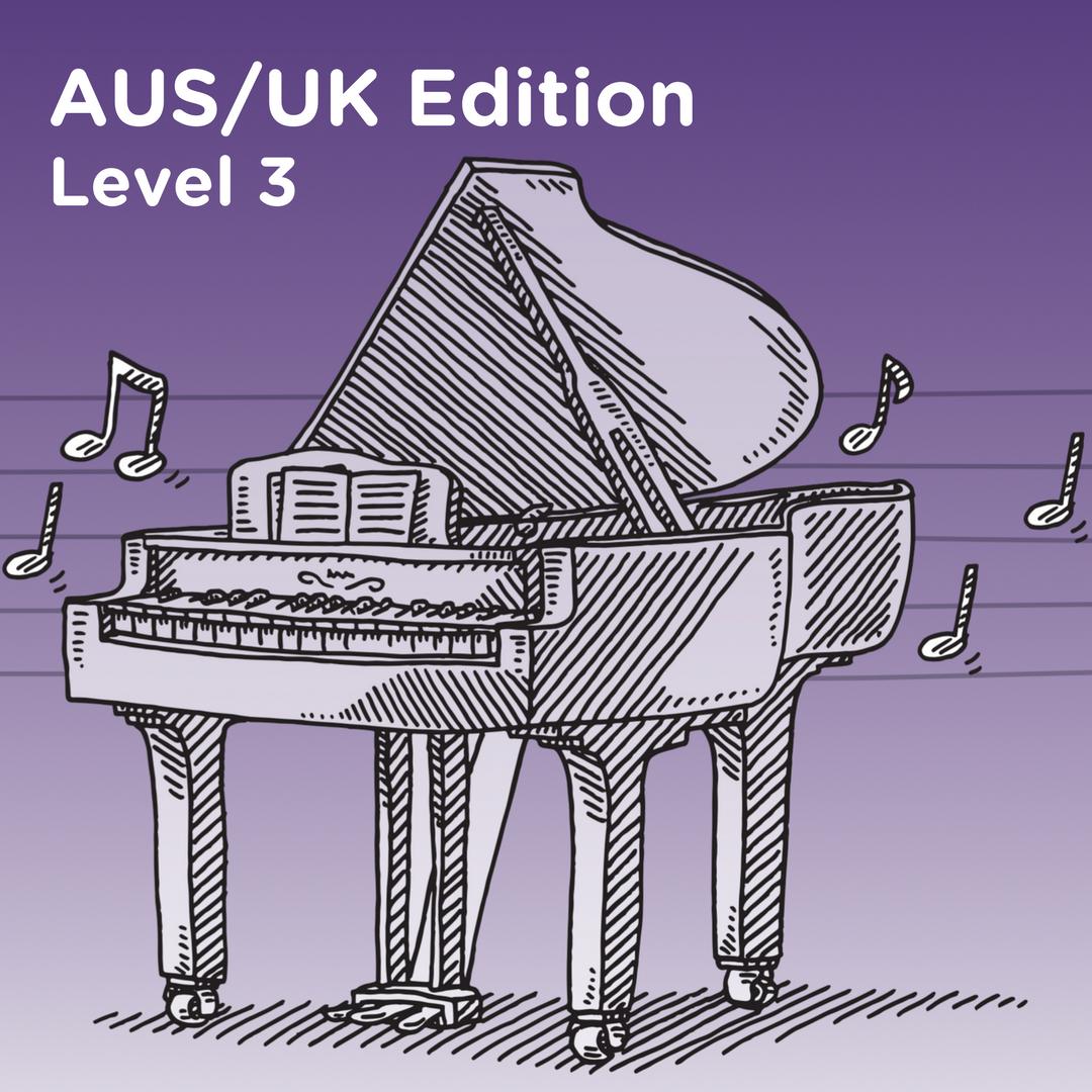 AUS/UK Edition Level 3 Cover Art