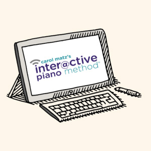 Interactive Piano Method® by Carol Matz - Corresponding Online Activities