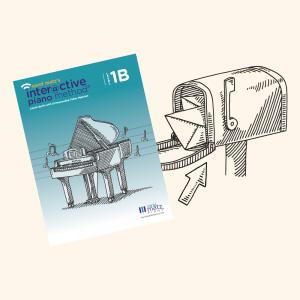 Interactive Piano Method® by Carol Matz - Printed Lesson Book