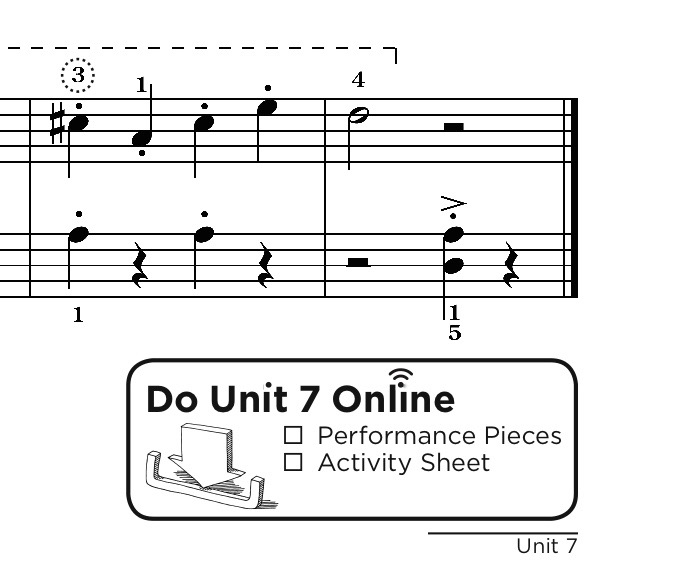 Sample Page - Online Piano Method
