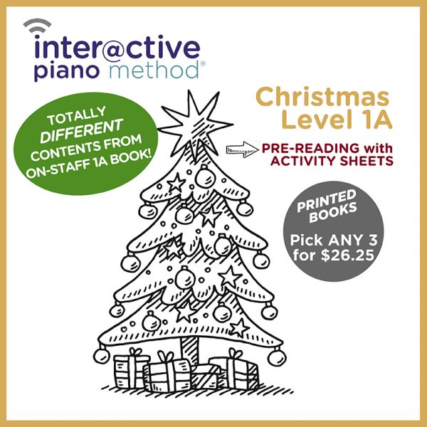 Christmas Pre-Reading Printed