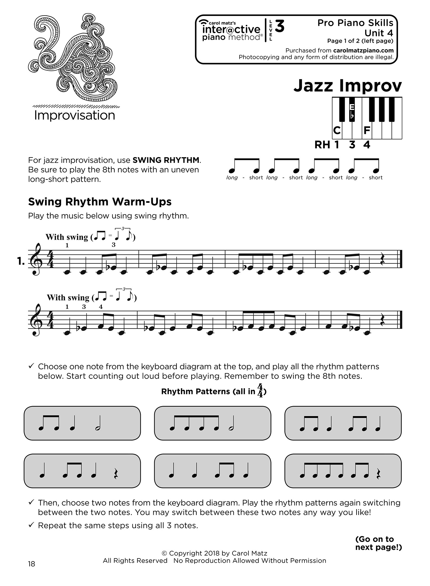 Level 3 - for Early Intermediate Students - Interactive Piano Method®