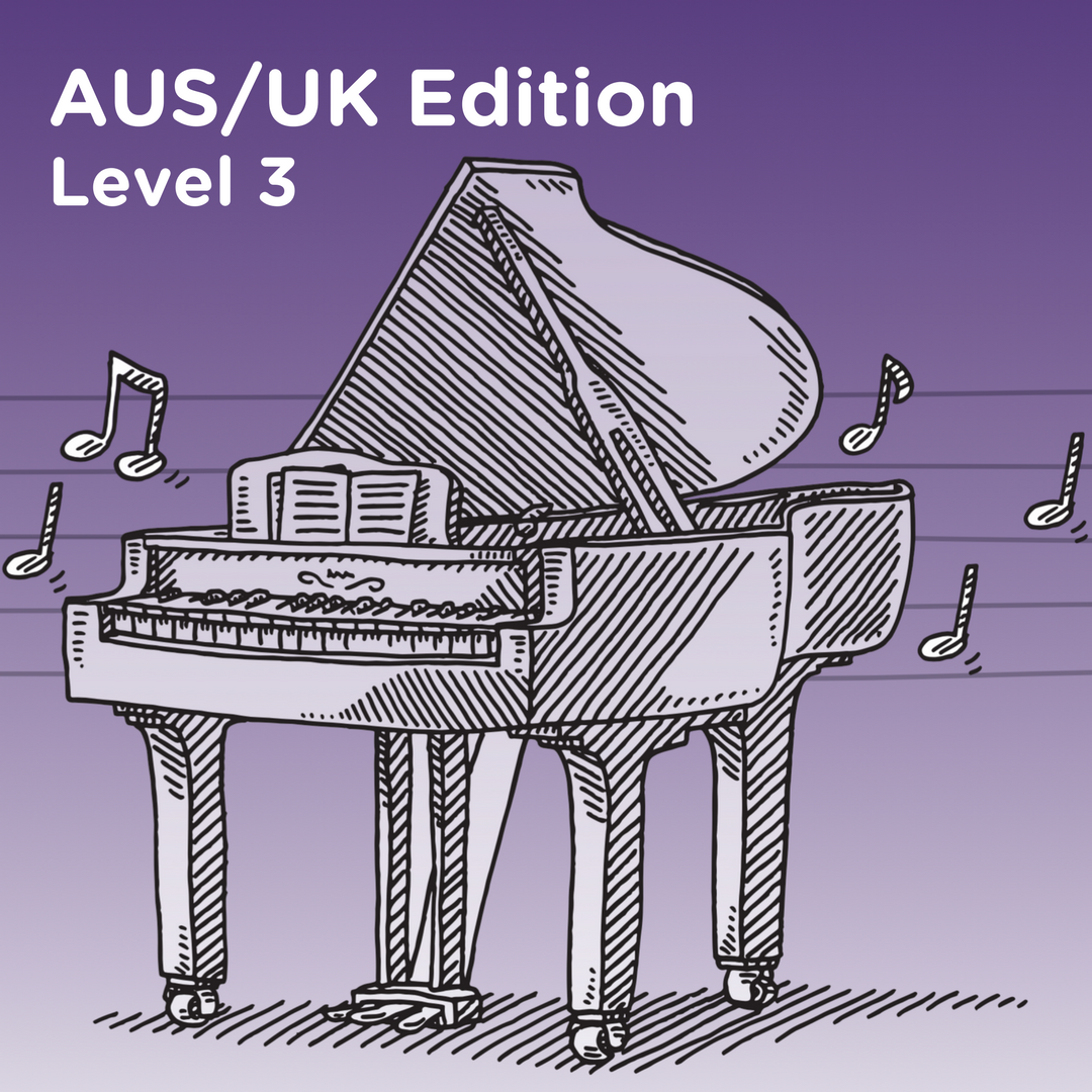 AUS/UK Edition Level 3 Cover Art