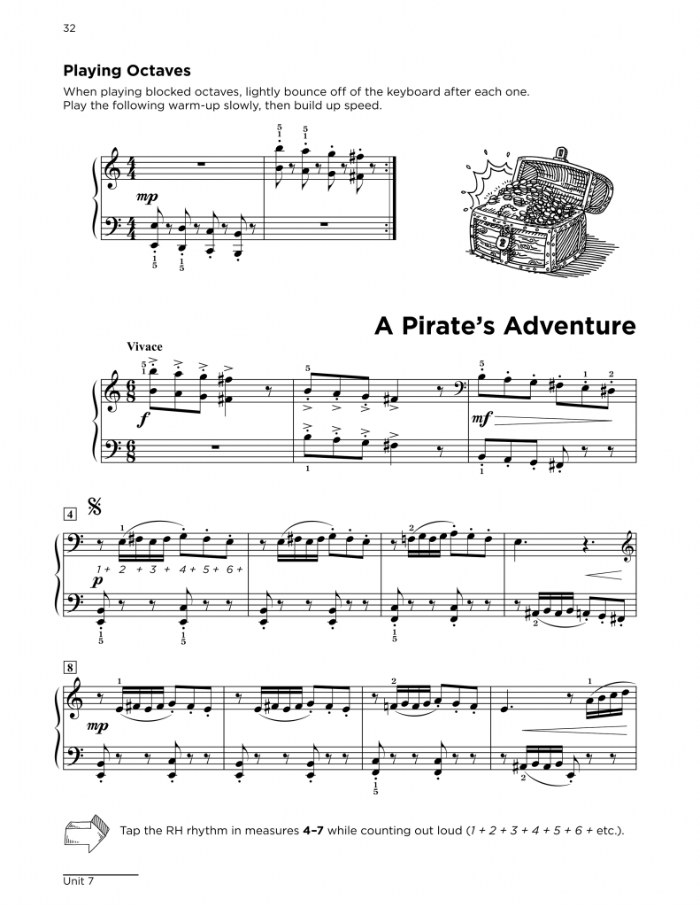Level 3 Sample: A Pirate's Adventure
