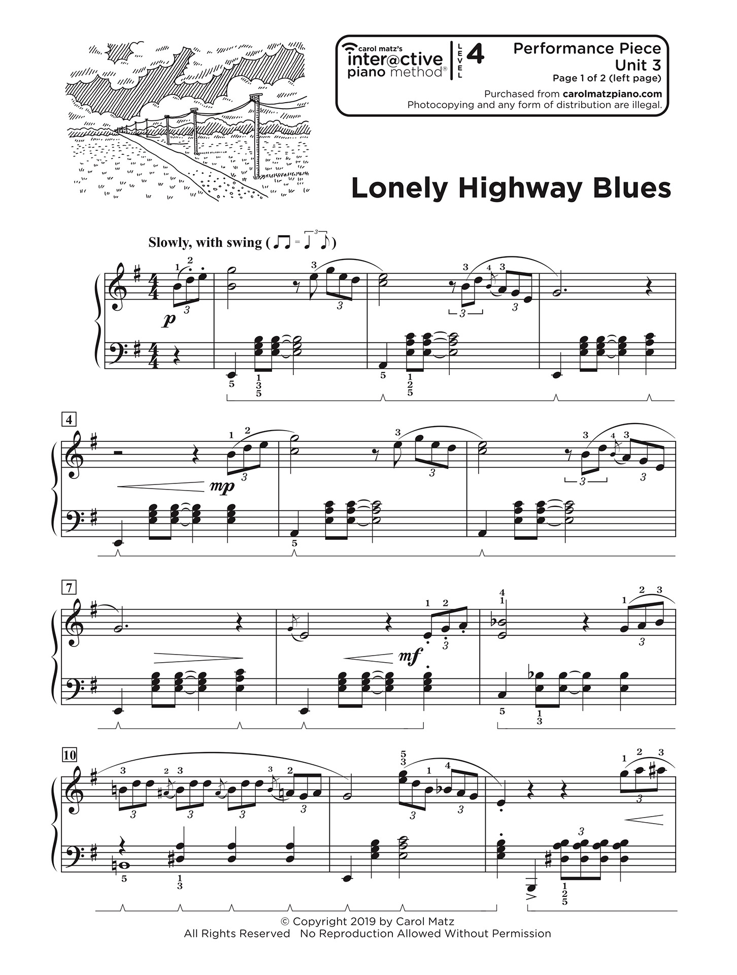 Lonely Highway Blues