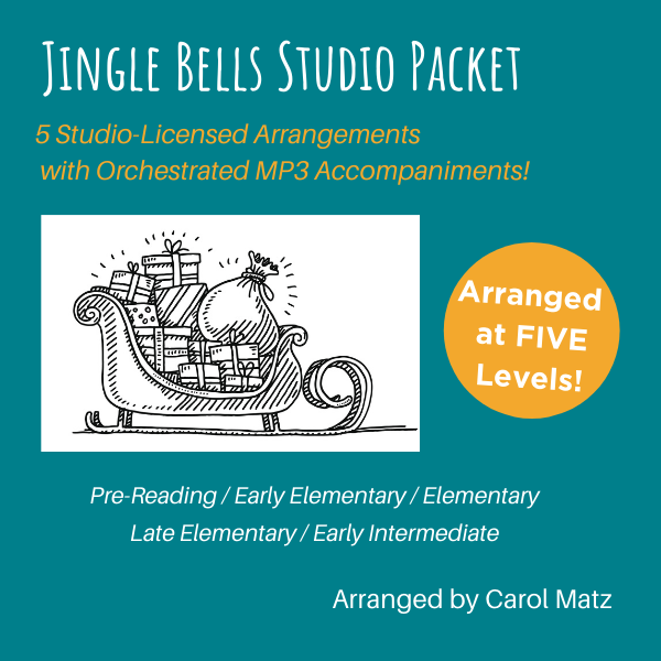 Jingle Bells Studio Packet Cover Art