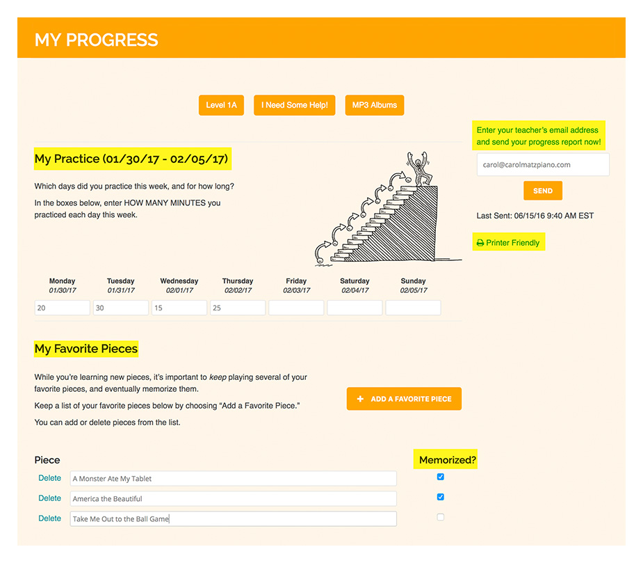How it Works: Checking Progress - My Progress